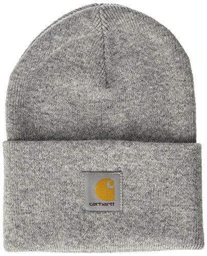 Carhartt, Acrylic Watch Hat - Cappello, unisex, colore grey heather, taglia Taglia unica