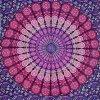Pink & Purple Mandala Tapestry , Hippie Tapestries , Bohemian Boho Tapestry , Dorm Tapestry ,Wall Tapestries, Tapestry Wall Hanging- AndExports by AndExports 5
