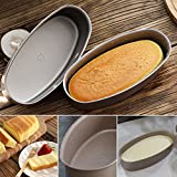 Pralinenformen Ovale Kuchenform Käseform Käse Kuchenform aus Aluminium (S)