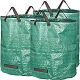 GardenMate 3x 272L Sacchi da giardinaggio - Sacchi per rifiuti da giardino - Polipropilene (PP) 150gsm - Robusto, antistrappo, idrorepellente