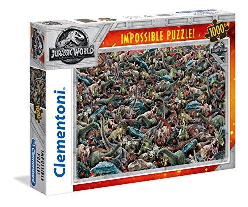 Clementoni 39470Jurassic World–1000T Impossible