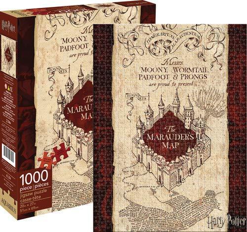 Aquarius, Puzzle, Tema Harry Potter, la Mappa del Malandrino (1000Pezzi)