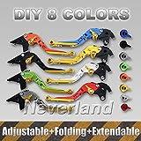 aridox (TM) Hot Sale 2faltbar ausziehbar Bremse Kupplung Hebel für Yamaha FZ1FZ6FZ6R FZ8F/XJR1300yzf-r6sc20