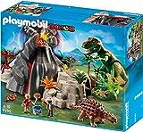 Playmobil 5230 Dinos Volcano with T-Rex Dinosaur