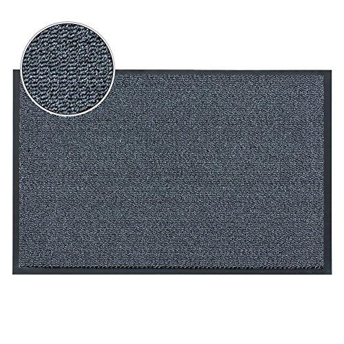FunkyBuys tappetino grande grigio/Tappetino da cucina resistente, bordo PVC, tappeto medio,...