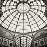 Stampa su Tela 120 x 120 cm: Milan - Galleria Vittorio Emanuele II (Analogue Photography) di Alexander Voss - Poster Pronti, Foto su Telaio, Foto su Vera Tela, Stampa su Tela
