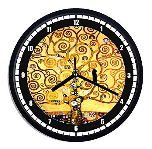 Orologio da parete in plastica Klimt - the three of life