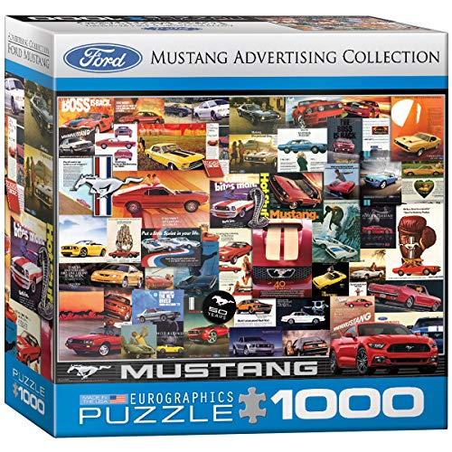 Eurographics 8000–1.899,9cm Ford Mustang vintage ADS puzzle da pezzi