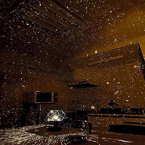 GeKLok Star Luce Notturna, proiettore abbagliante Luminoso LED Night Stars Celestial Costellazione...