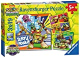 Ravensburger Teenage Mutant Ninja Turtles Half Shell Heroes 3x 49pc Jigsaw Puzzles