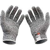 Sicherheitshemmende Handschuhe Schneiden Sie Proof Stabil Resistant Edelstahl Sicherheitshandschuhe Draht Metall Mesh Küchenmaschine Cut -Resistant,M