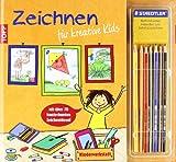 Kinderwerkstatt Zeichnen für kreative Kids: Mit über 70 kunterbunten Zeichenideen