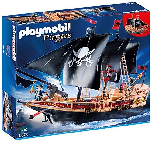 PLAYMOBIL 6678 - Piraten-Kampfschiff