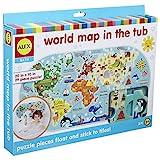 Alex - Mapa del mundo en el baño (Juratoys 200020)