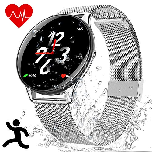 Orologio Intelligente Bluetooth IP68 Impermeabile - Smartwatch Bluetooth Fitness Tracker, Smart...