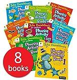 Julia Donaldson Songbirds Phonics Activity Book 1-8, Oxford Reading Tree