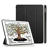 EasyAcc Hülle für iPad 9.7 2018 iPad 6 Generation/2017 iPad 5 Generation, Ultra Dünn Leichtgewicht Smart Cover mit Auto aufwachen/Schlaf und Standfunktion für iPad 9.7 Zoll, Schwarz