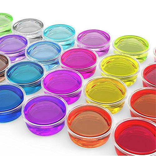 4af3180ad2c800 Crystal Clay 12 Couleurs Jouets pour enfants Slime Enfants Brosse ...