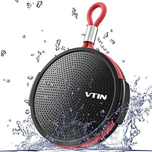 VTIN Mini Cassa Bluetooth 4.2 Ultra Portatile con 8W Suono Potente e Extra Bass, Autonomia di 10 Ore...