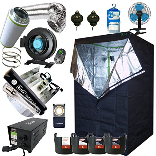 Best Complete Grow Room Full Setup 1.2 x 1.2 x 2m Grow Tent 5