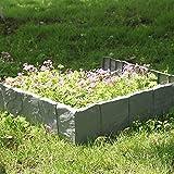 MultiWare, pietre per creare bordi e angoli in giardino, pietre per bordura, confezione da 10 pezzi