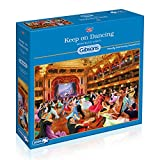 Gibsons Keep on Dancing Jigsaw Puzzle, 1000 piece