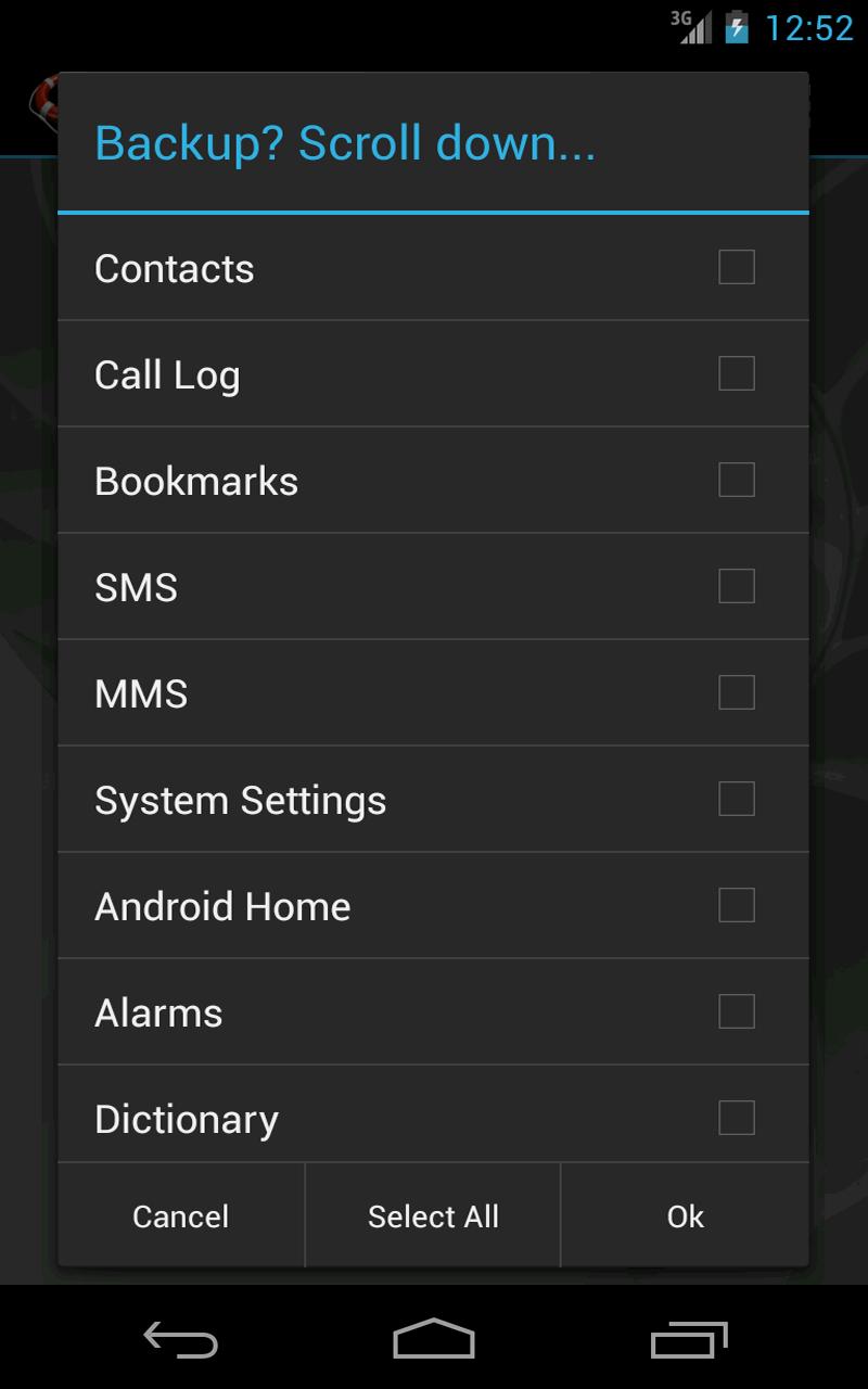 MyBackup Pro Screenshot