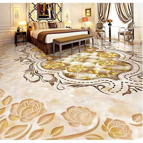 Lxsart Piastrelle per pavimenti in parquet per pavimenti in foto per pavimenti in PVC adesivo...