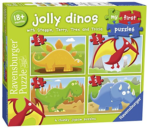 Ravensburger Italy- My First Puzzle Dinosauri, 07289