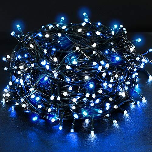 Ulinek Batteria Stringa Luci 40m 300LED, Decorative 8 Modalità Catena Luminosa IP44 Interni Esterni...