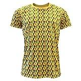 Camiseta Cactus Manga Corta Amarilla Para Hombre