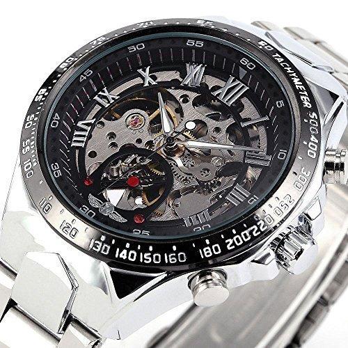 Ricercato orologio meccanico automatico russo, sportivo ed elegante al tempo stesso, da uomo, cassa...