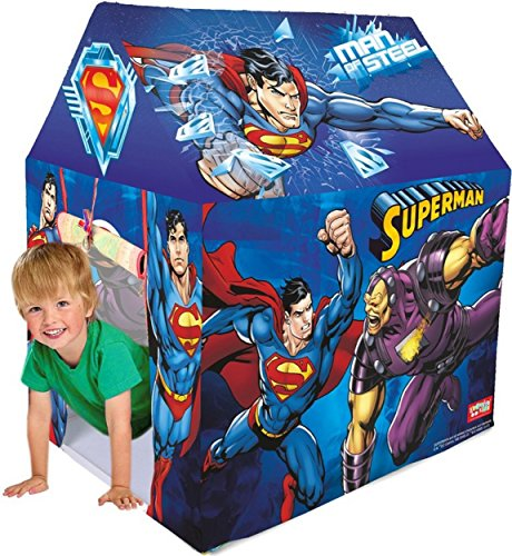 Zitto Superman Play Kids Play Tent House, Multicolour