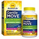 Advanced Naturals Renew Life Gentle Move Kid's Colon Support, 60 Chewable Tablets