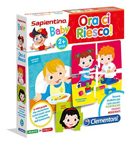 Clementoni Sapientino Baby-Ora Ci Riesco, 16078