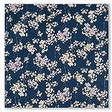 Small Navy Cherry Blossom Japanese Furoshiki