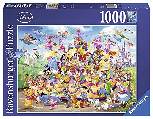 Ravensburger 19383 Puzzle Carnevale Disney, 1000 Pezzi