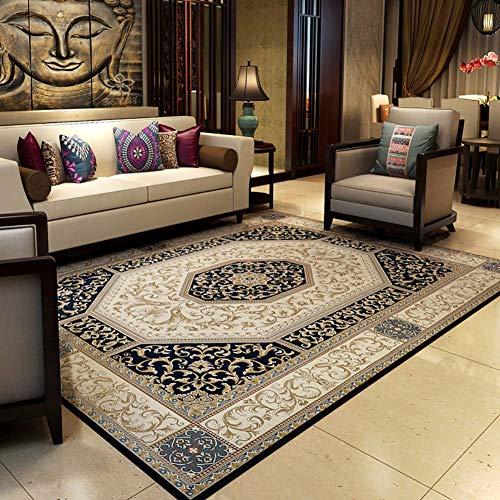Carpet & rug Fiore Intagliato Persiano Oriental Floormat Tappeto Tradizionale Disegno del Bordo...