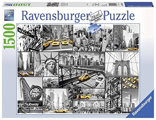 Ravensburger Italy Le Macchie di Colore a New York-Puzzle da 1500 Pezzi, 16354, Modelli/Colori...