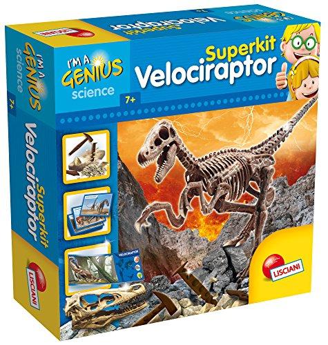 Lisciani Giochi LISCIANI I'm A Genius Super Kit Velociraptor Giochi Didattici/Educativi, Multicolore, 56422