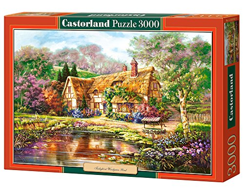 Crepuscolo a Wood Green Pond, Puzzle 3000 T