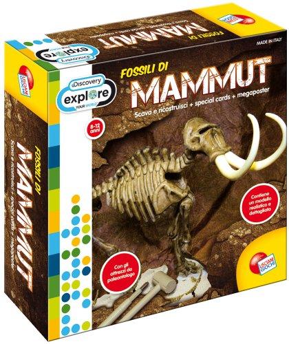 Liscianigiochi 35670 Discovery Superkit Fossili Kit Mammut