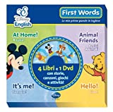 First words. Le mie prime parole in inglese. Ediz. bilingue. Con DVD