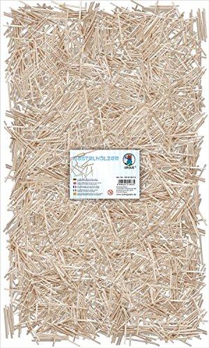 Ursus 42160001 - Bastelhölzer Natur, ca. 5000 Stück