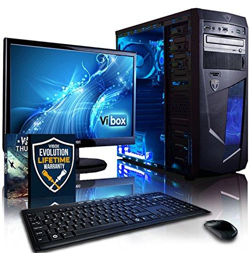 Vibox VBX-PC-1528 - Ordenador de sobremesa (AMD A Series Dual Core A4, 8 GB de RAM, 1 TB, Radeon HD8370D), Color Negro