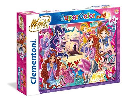 Clementoni 23677-Maxi Puzzle Winx: Sweet Bon TON, 104 Pezzi, Multicolore, 806841