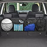 Car Boot Organiser,Topist Multi Pocket Car Backseat Storage Chest Organizer/Back Seat Organiser Storage Bag /Car Seat Storage Bag for Vehicle Safety Items Car Cleaning Tools Accessories Storage