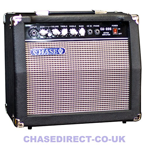 Chase CA-20G 20 Watt Electric Guitar Amplifier Practice Amp