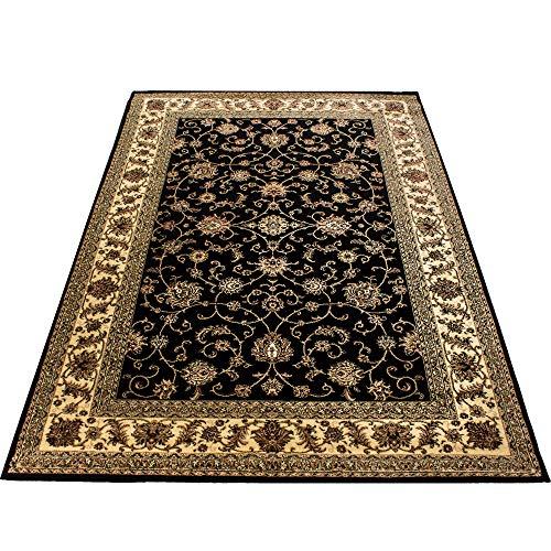Tappeto orientale Tappeto orientale Macchina d'epoca tradizionale intrecciata nero, Maße:300x400 cm