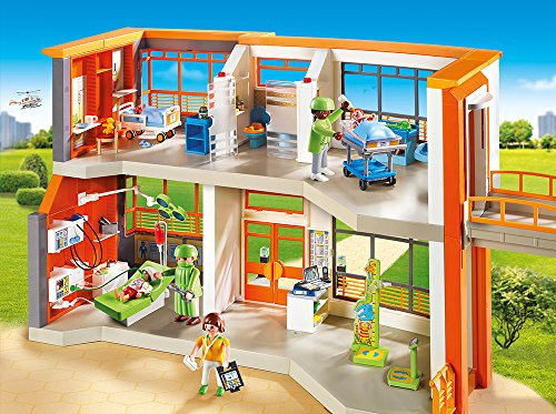 PLAYMOBIL 6657 – Kinderklinik mit Einrichtung - 2